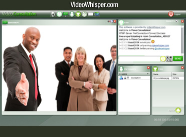 Online Video Consultation and eLearning Software